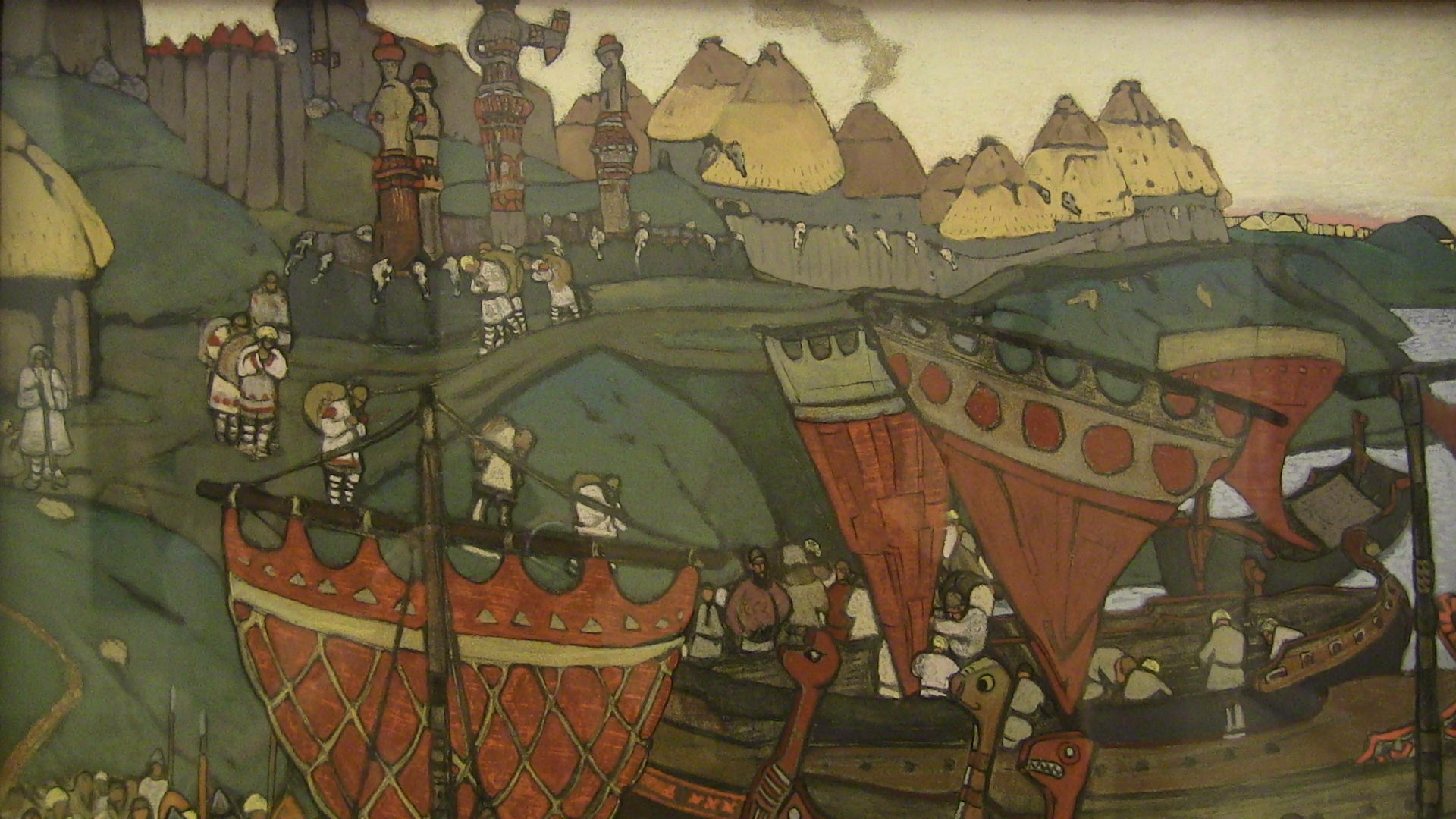 Roerich in the Russian museum